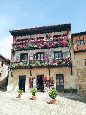 El Soplao flores casa Concha